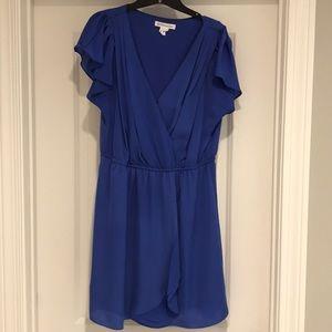 BCBG Blue mini dress